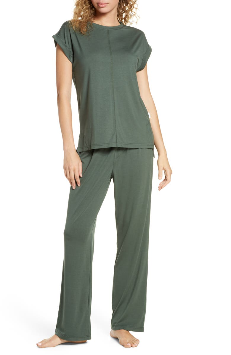 CHALMERS Lacey Jersey Pajamas, Main, color, 300