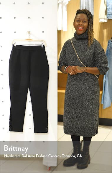 Stand Back Lace Inset Pants, sales video thumbnail