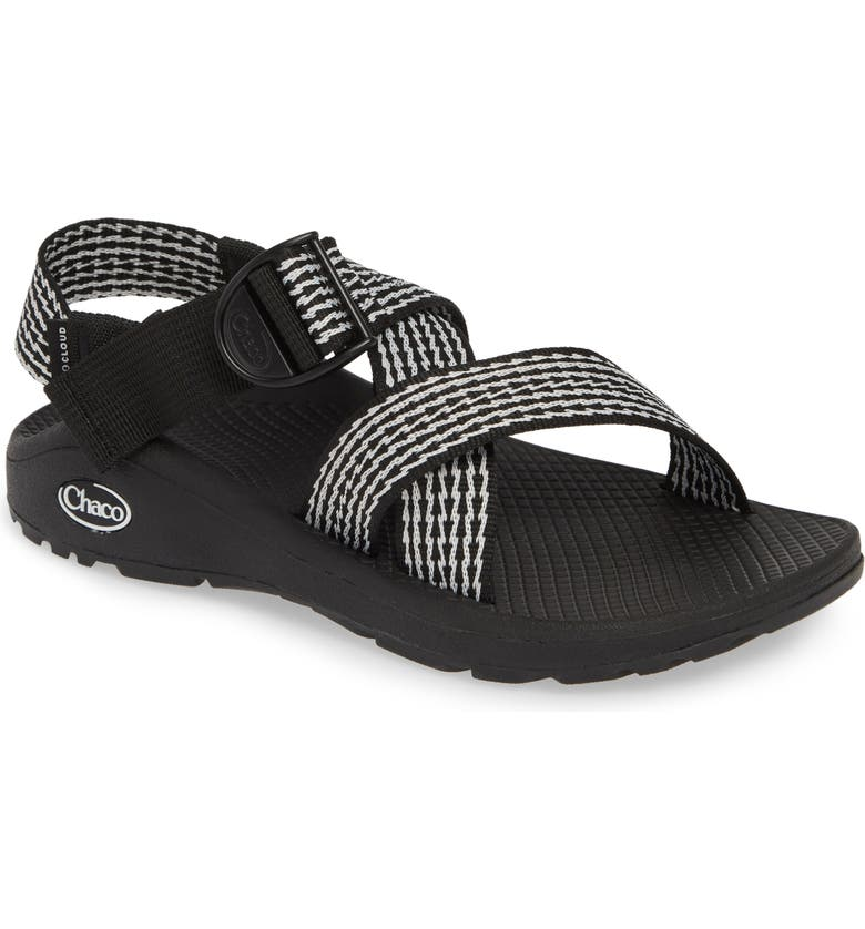 CHACO Mega Z/Cloud Sport Sandal, Main, color, PRONG BLACK FABRIC
