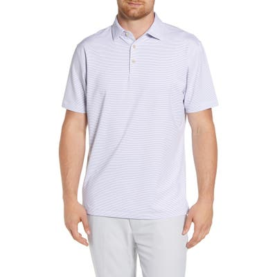 Peter Millar Halford Stretch Polo Shirt, Blue