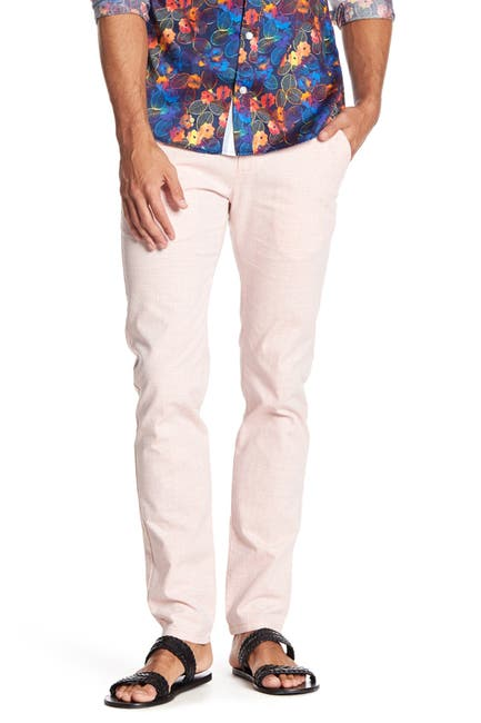 """Image of TR Premium Patterned Comfort Fit Casual Pants - 32-34"""" Inseam"""