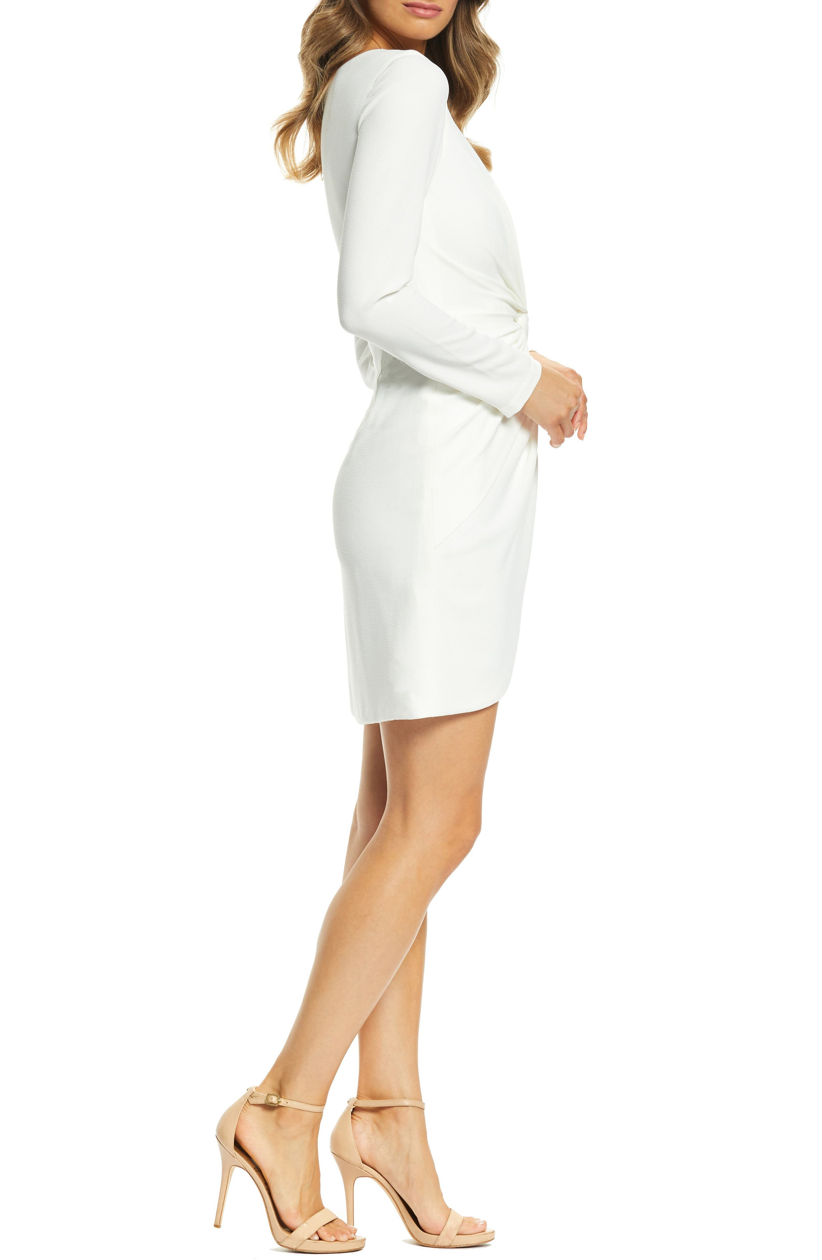 ,                             Coby Twisted Faux Wrap Cocktail Dress,                             Alternate thumbnail 22, color,                             900