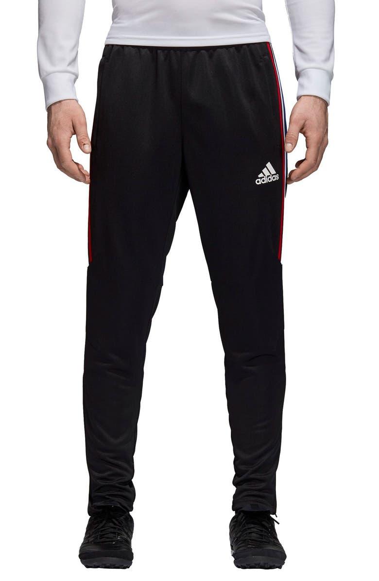 ADIDAS Tiro 17 Straight Leg Training Pants, Main, color, 001