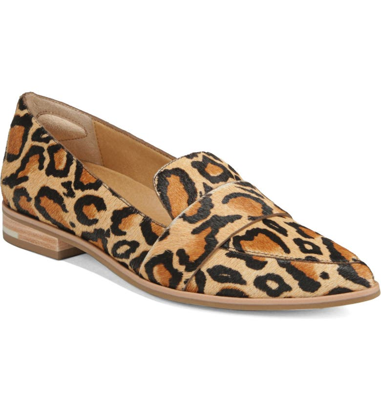 DR. SCHOLL'S Faxon Loafer, Main, color, LEOPARD CALF HAIR