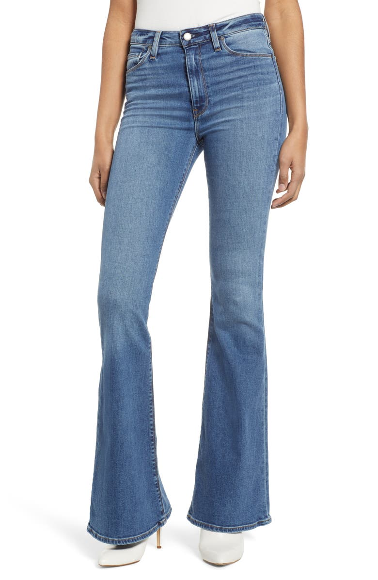 HUDSON JEANS Holly High Waist Flare Jeans, Main, color, 420