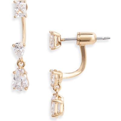 Nadri Eliza Drop Back Earrings