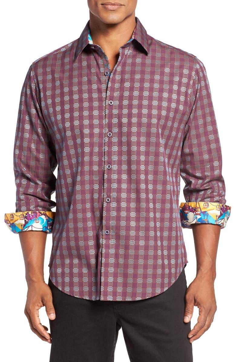 ROBERT GRAHAM Gideon Classic Fit Sport Shirt, Main, color, 930