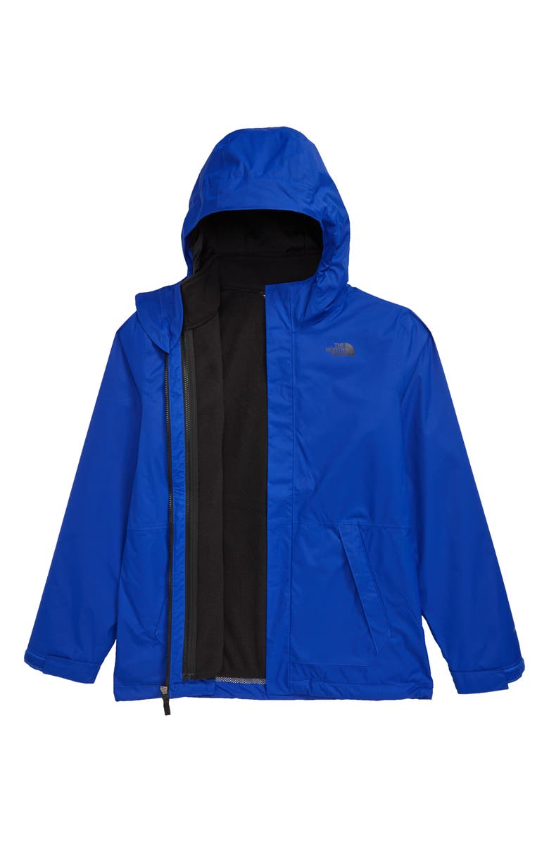 THE NORTH FACE Vortex TriClimate<sup>®</sup> Water Resistant & Wind Resistant Hooded Jacket, Main, color, TNF BLUE