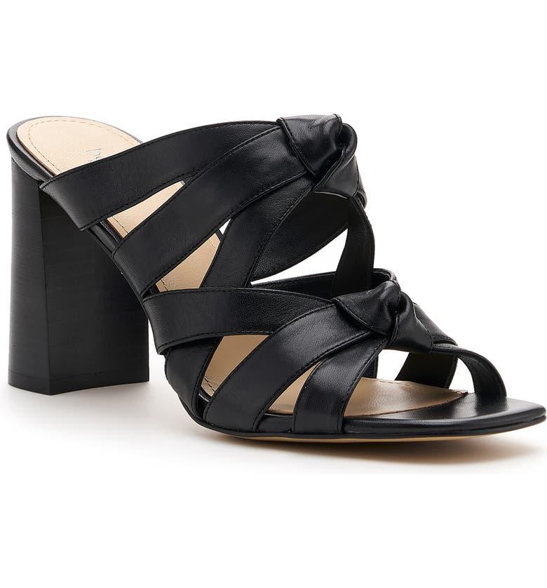 BOTKIER Raffe Strappy Slide Sandal, Main, color, BLACK SUEDE