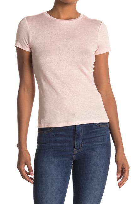 Image of FAHERTY BRAND Didion Linen T-Shirt
