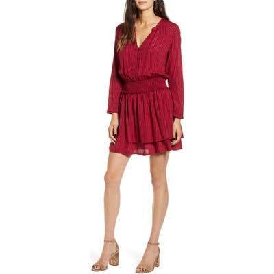 Rails Jasmine Long Sleeve Dress, Pink