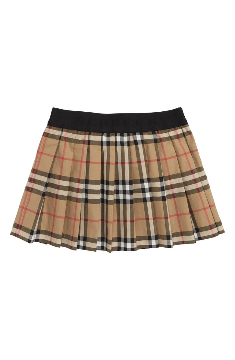 522962e6c Burberry Mini Pansie Check Skirt (Toddler Girls, Little Girls & Big ...