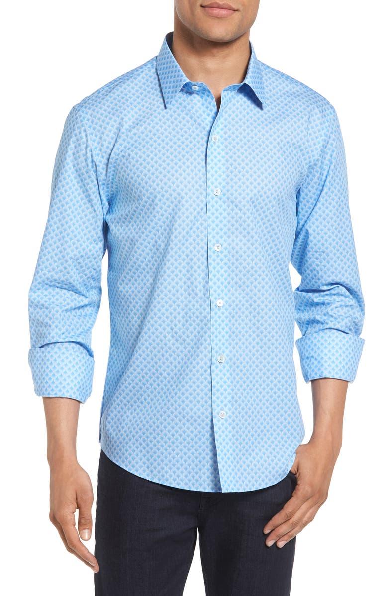 ZACHARY PRELL Siyoung Sport Shirt, Main, color, 400