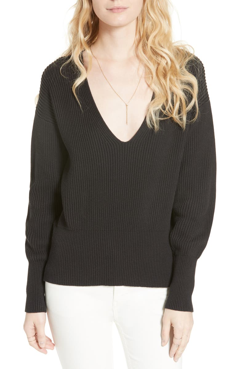 FREE PEOPLE Allure Pullover, Main, color, 001