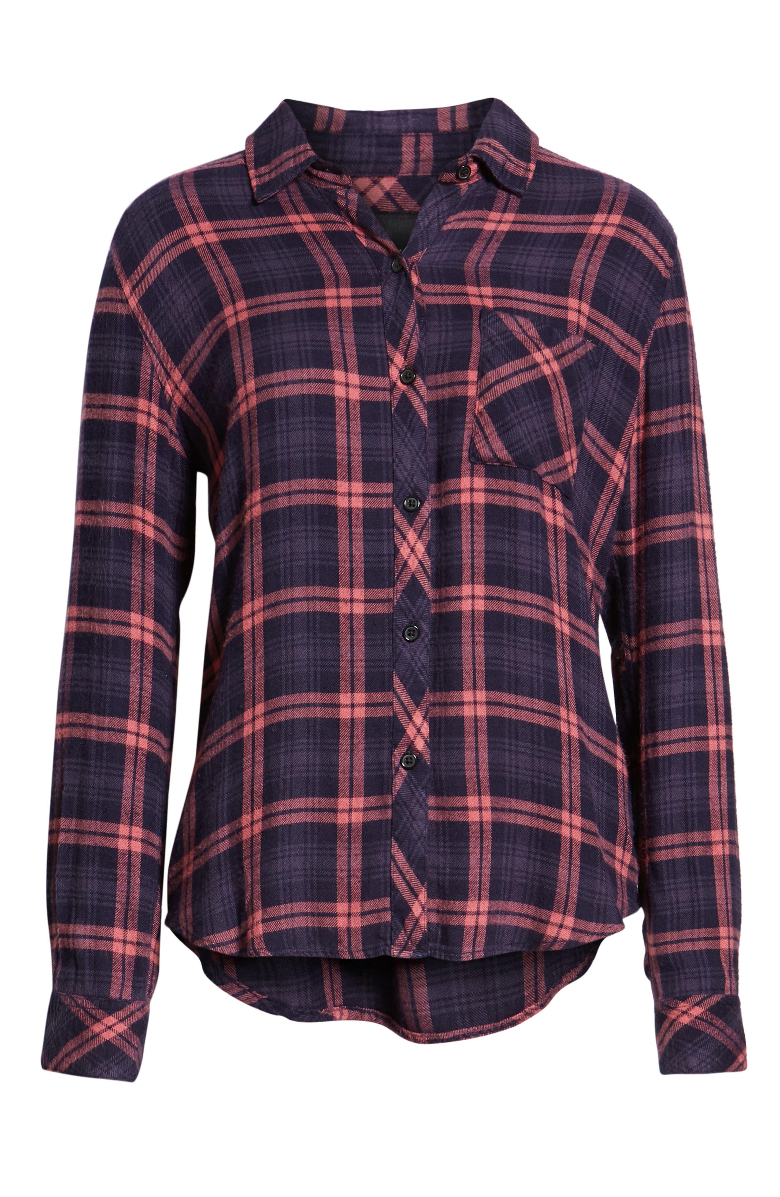 ,                             Hunter Plaid Shirt,                             Alternate thumbnail 393, color,                             493
