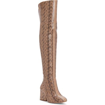 Louise Et Cie Vayna Over The Knee Boot, Brown