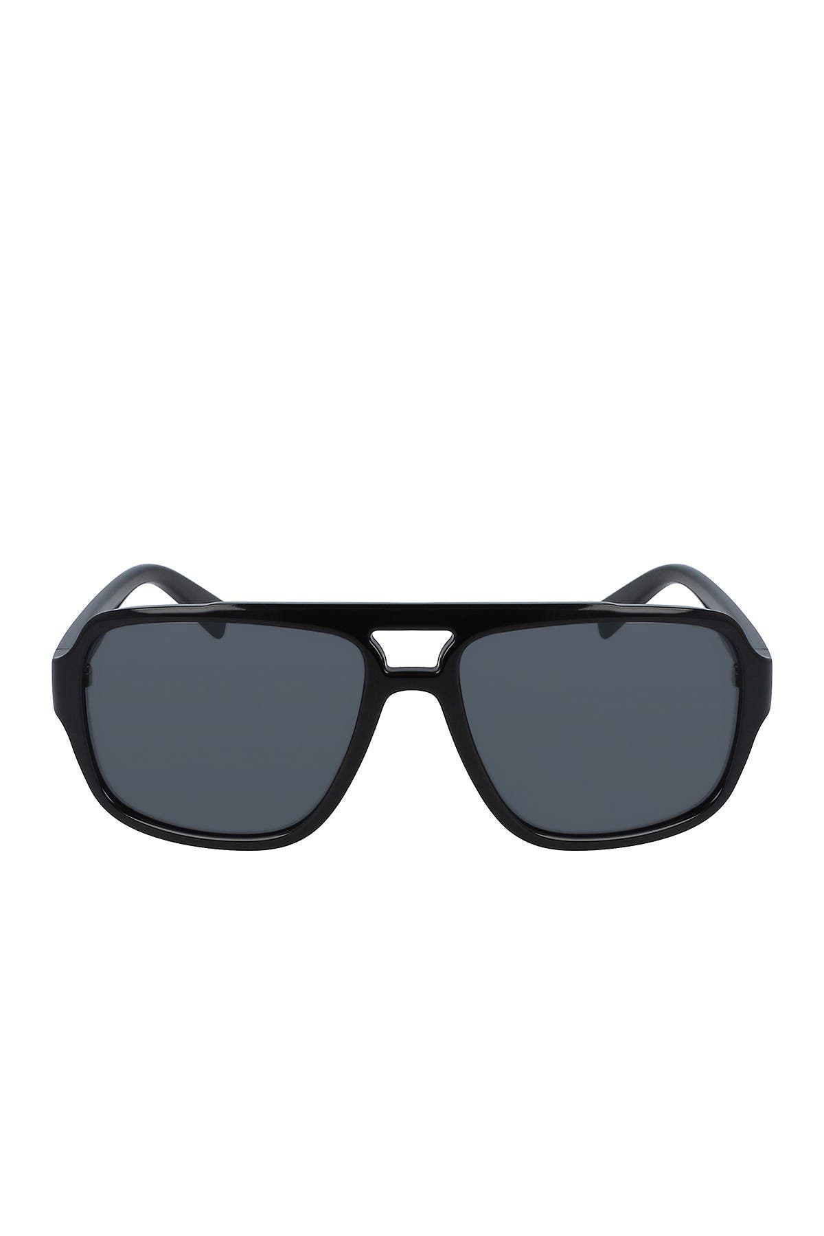Image of Cole Haan 58mm Injected Navigator Sunglasses