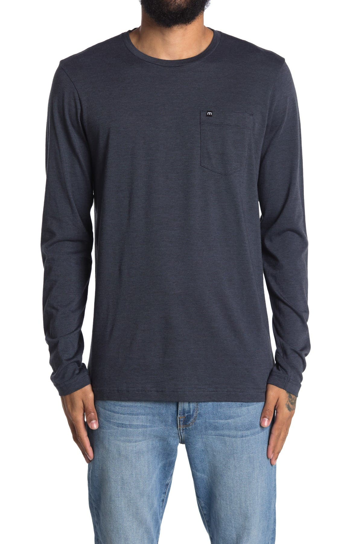 Image of TRAVIS MATHEW Verbal Patch Pocket T-Shirt