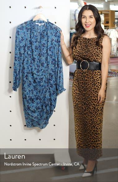 Becky Floral Print Silk Dress, sales video thumbnail