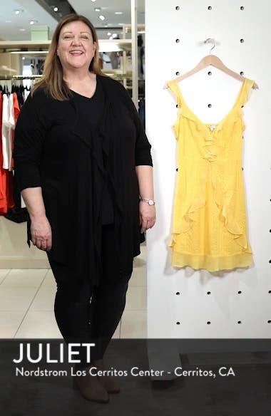 Jessa Ruffle Eyelet Fit & Flare Dress, sales video thumbnail