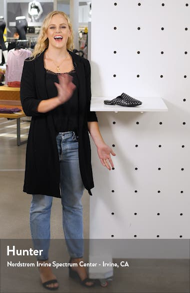 Kitty Studded Loafer Mule, sales video thumbnail