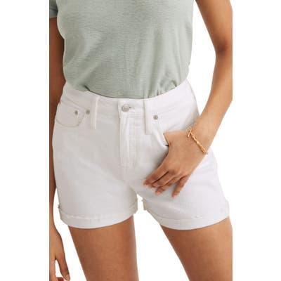Madewell Curvy High Waist Denim Shorts