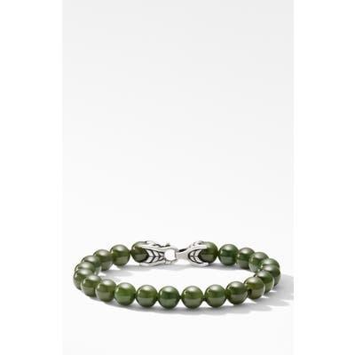 David Yurman Spiritual Bead Bracelet With Nephrite Jade