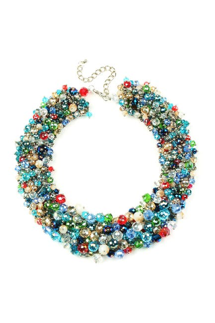 Image of Eye Candy Los Angeles Multi Posh Collar Necklace