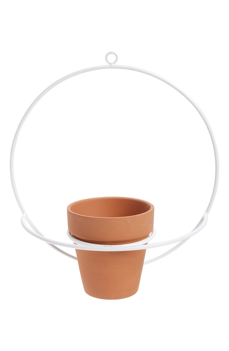 NEWMADE LA Circle Wall Mount Planter, Main, color, 100