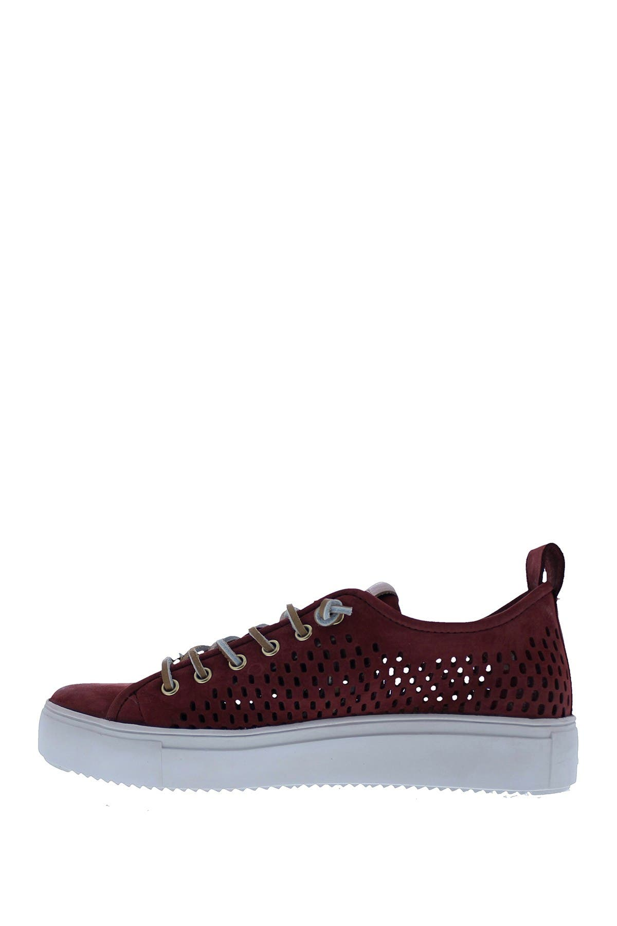 Image of Blackstone Perforated Leather Low Top Sneaker