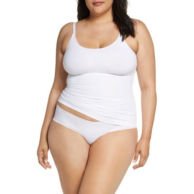 Plus Size Spanx Socialight Camisole, White