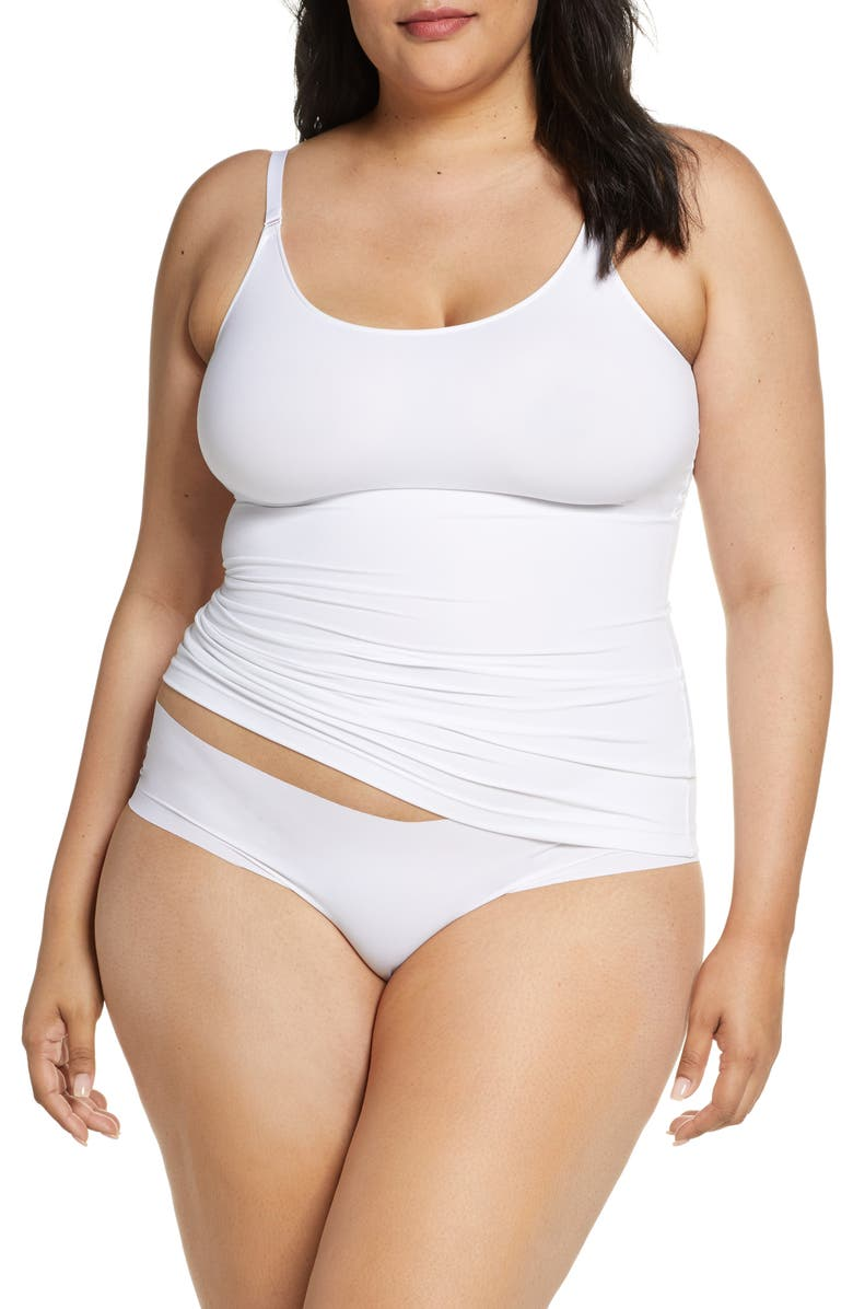 SPANX<SUP>®</SUP> Socialight Camisole, Main, color, WHITE