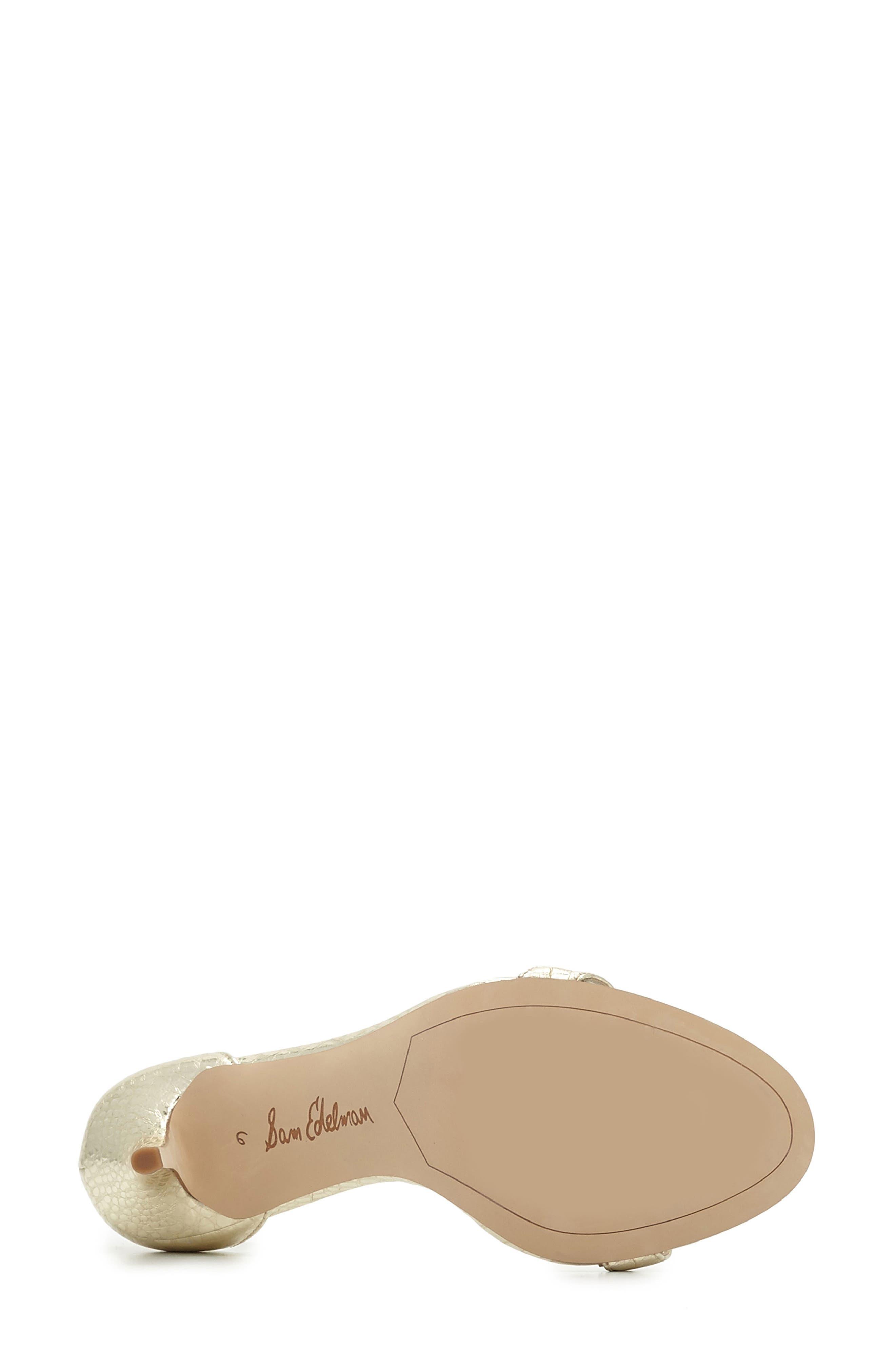 ,                             'Patti' Ankle Strap Sandal,                             Alternate thumbnail 133, color,                             712