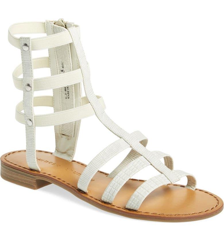 CHINESE LAUNDRY 'Gemma' Gladiator Sandal, Main, color, 100