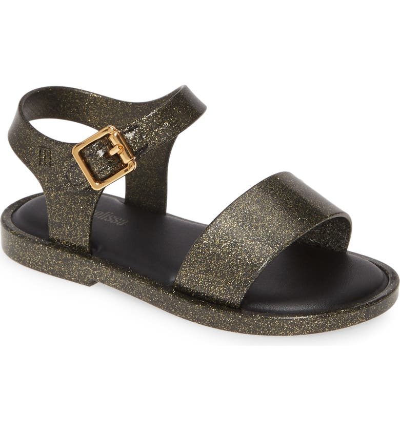 MINI MELISSA Mar Glitter Jelly Sandal, Main, color, 006