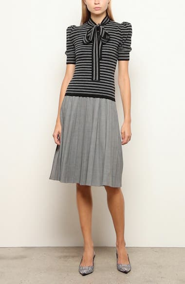 Pleated A-Line Skirt, video thumbnail