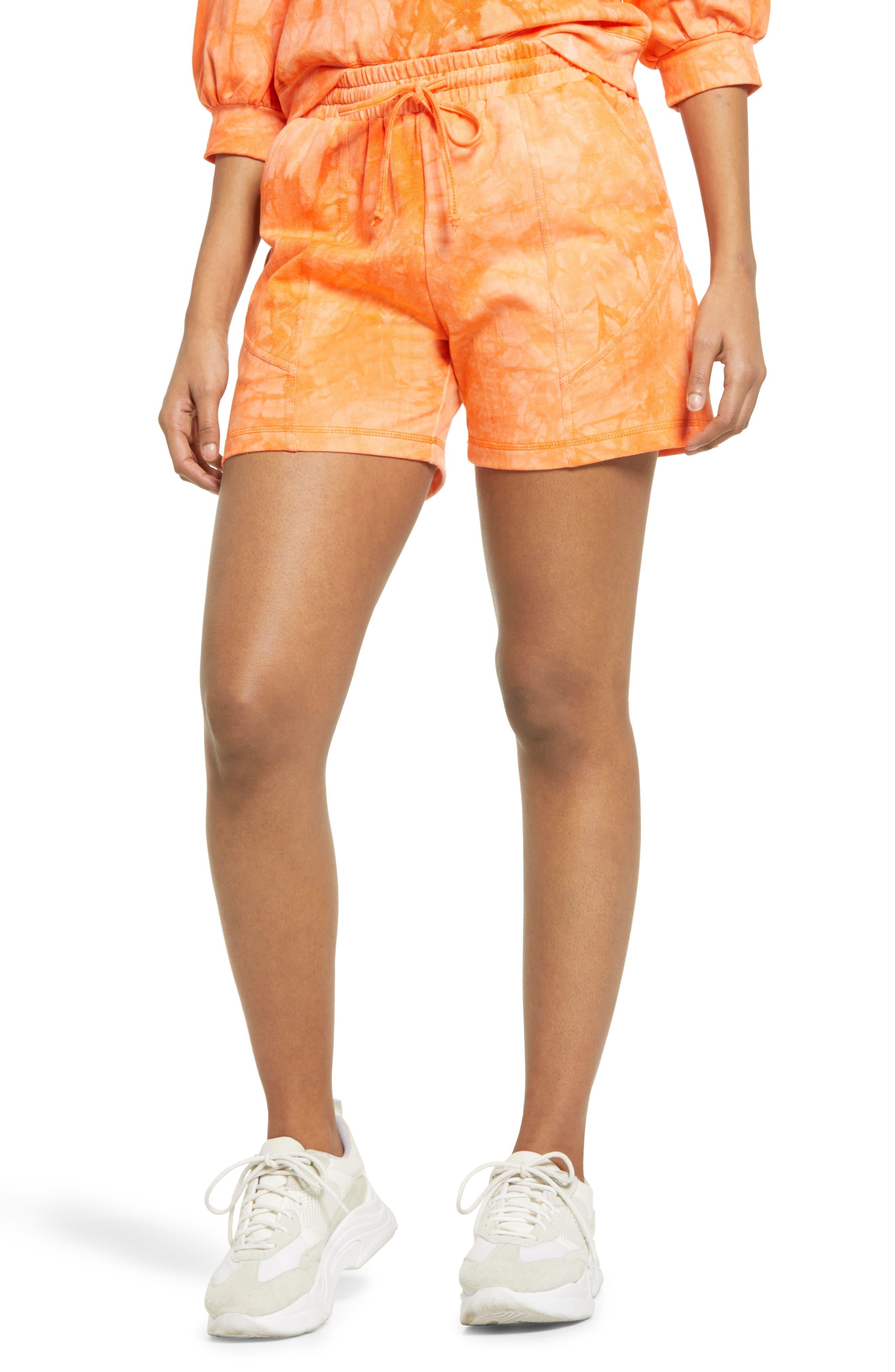 Women's Kendall + Kylie Tie Dye Shorts