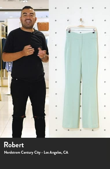 x Atlantic-Pacific High Waist Flare Pants, sales video thumbnail