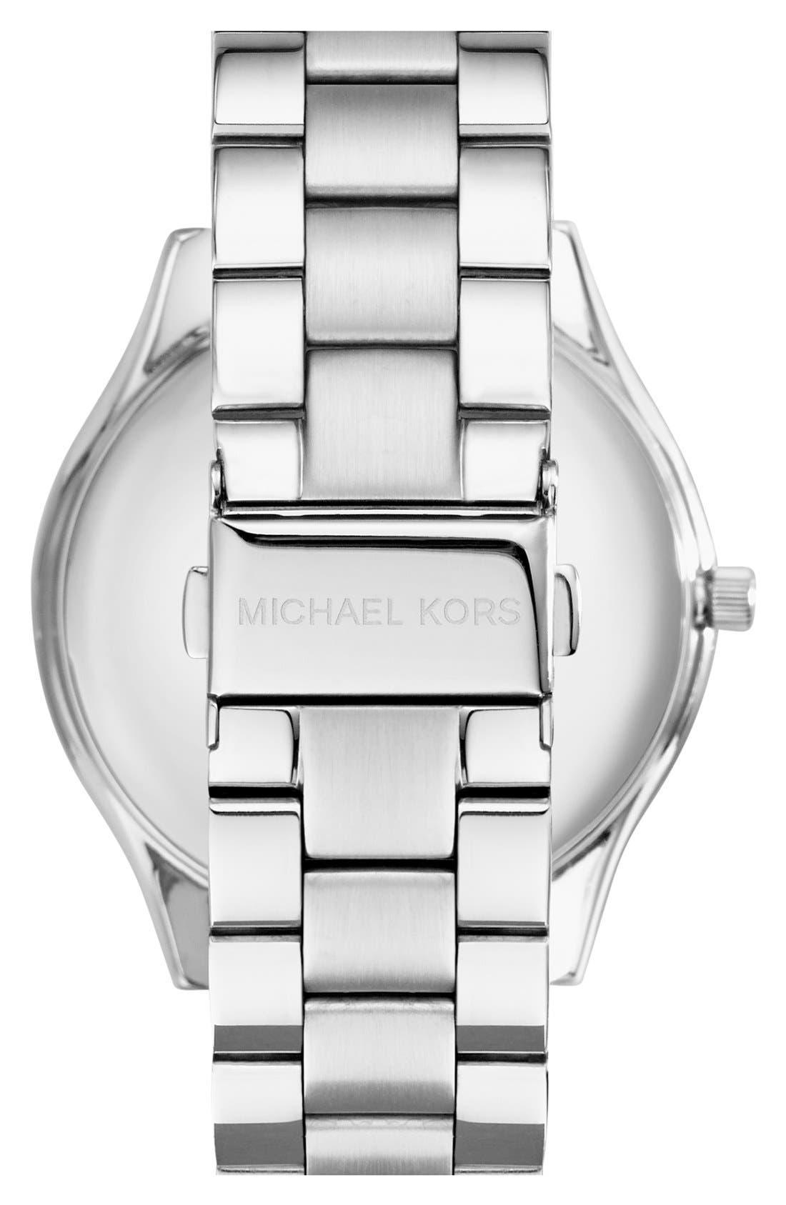 ,                             'Slim Runway' Bracelet Watch, 42mm,                             Alternate thumbnail 21, color,                             041