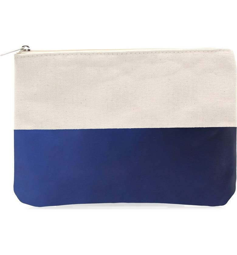 CATHY'S CONCEPTS Personalized Canvas Clutch, Main, color, 400