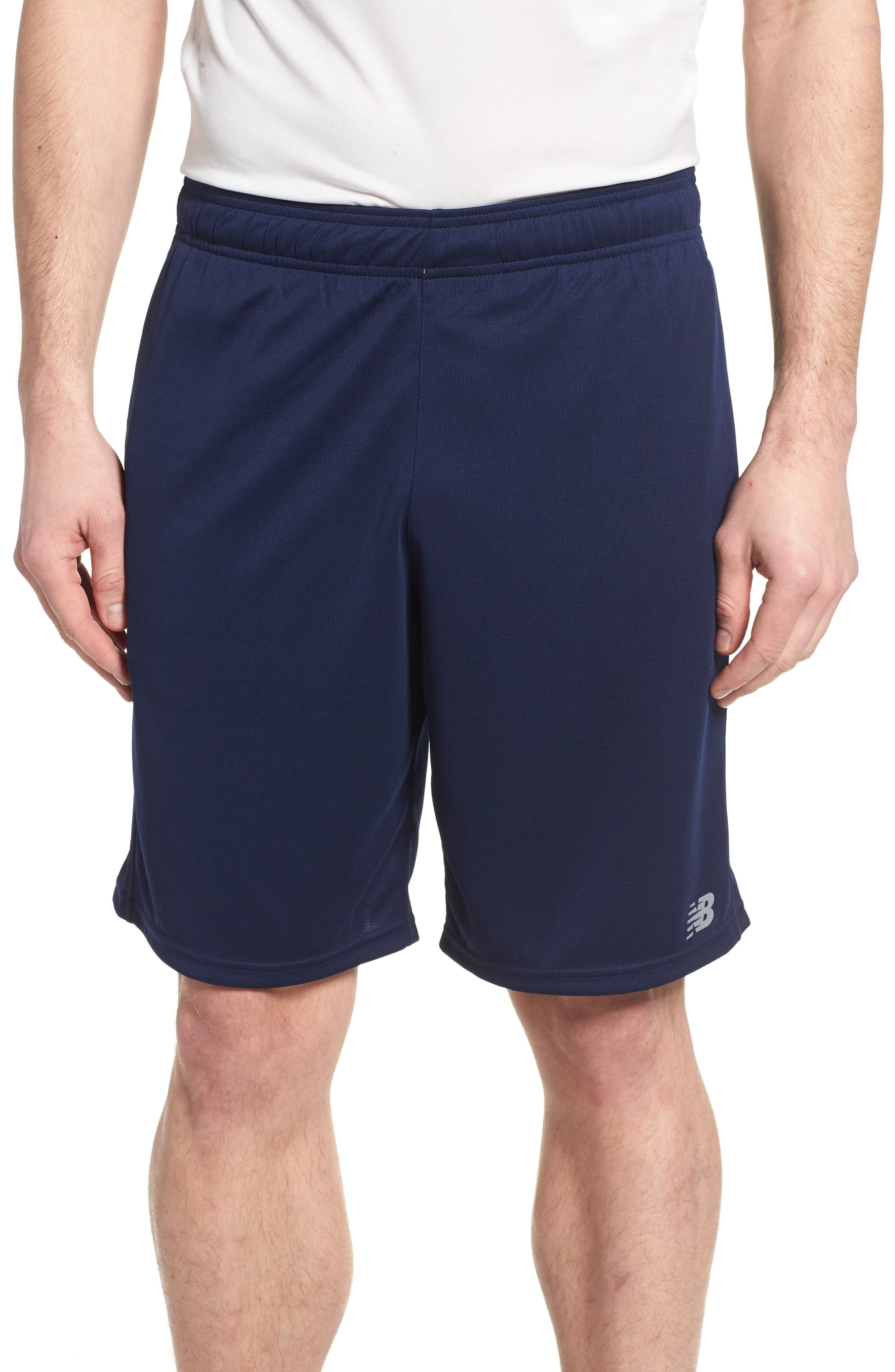 New Balance Versa Shorts, Blue