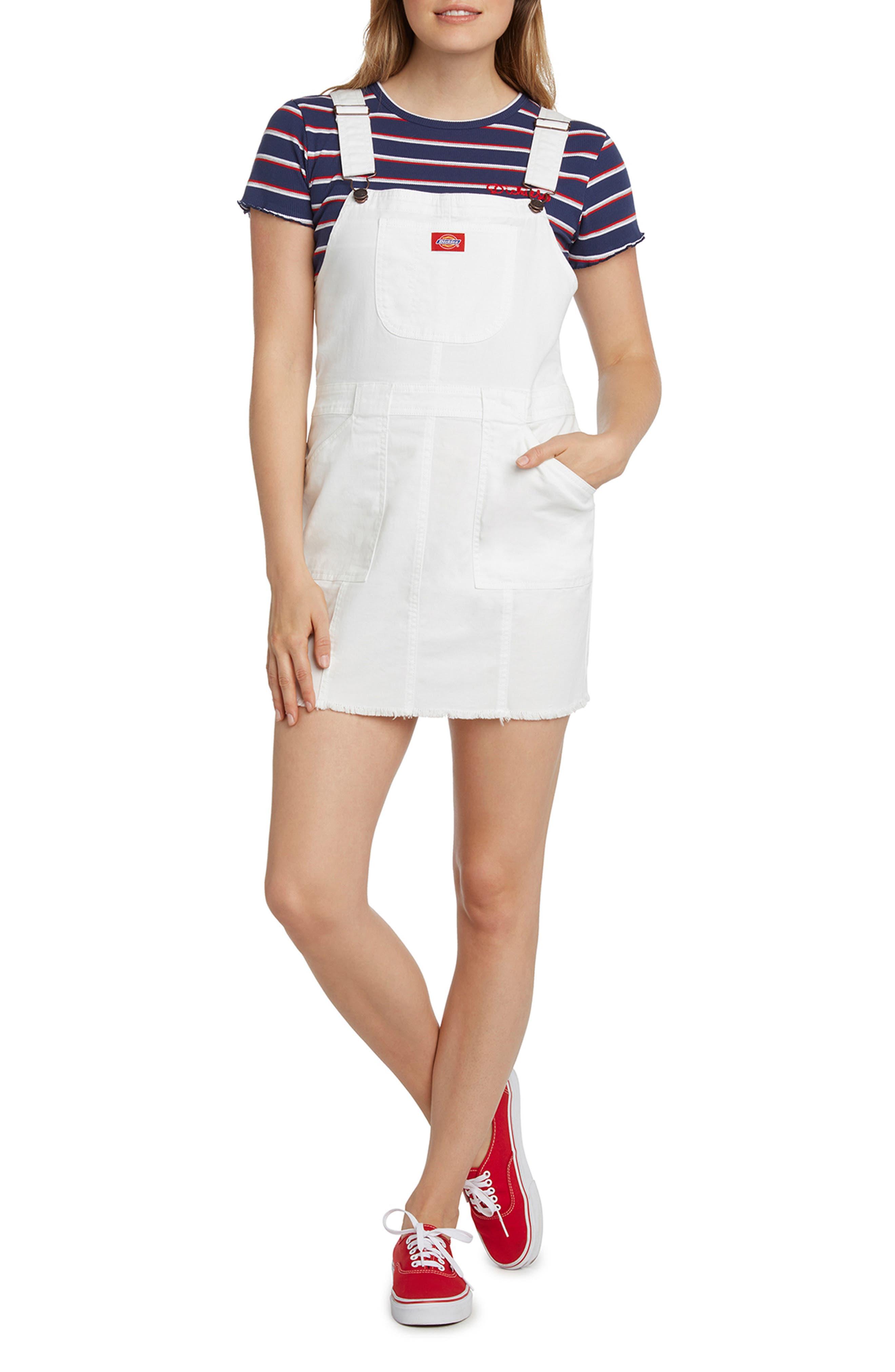 Twill Overall Dress