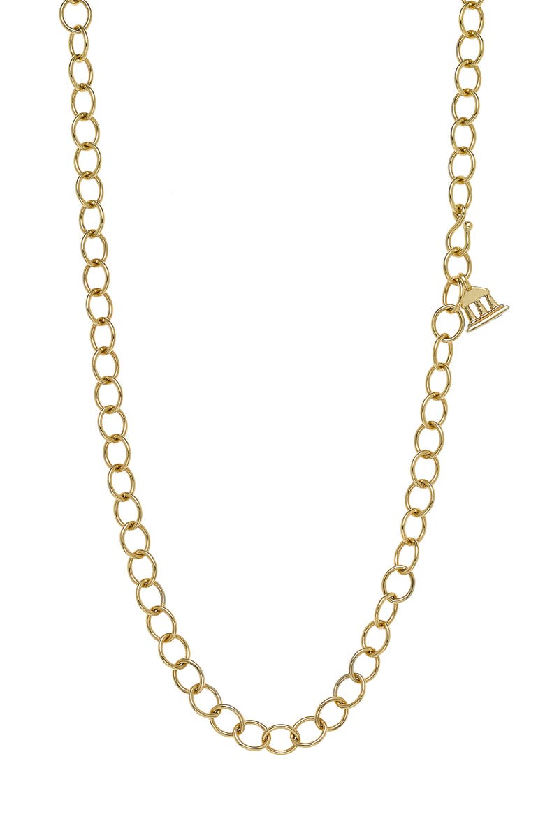 TEMPLE ST CLAIR Temple St. Clair Classic Oval Chain Necklace, Main, color, 710