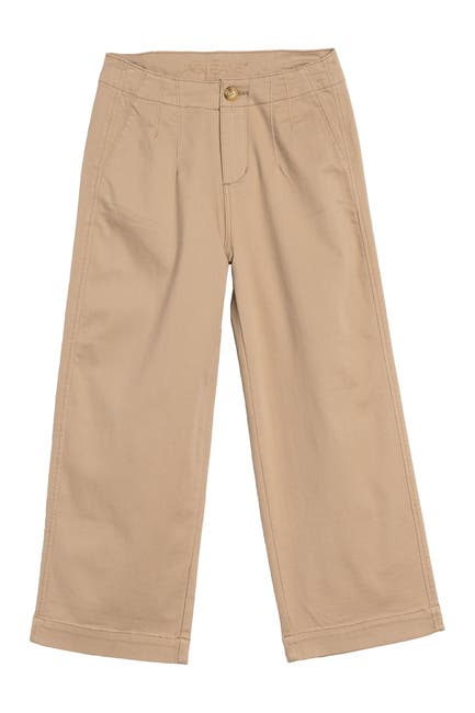 Image of JAG Jeans Alicia Wide Leg Twill Cropped Pants