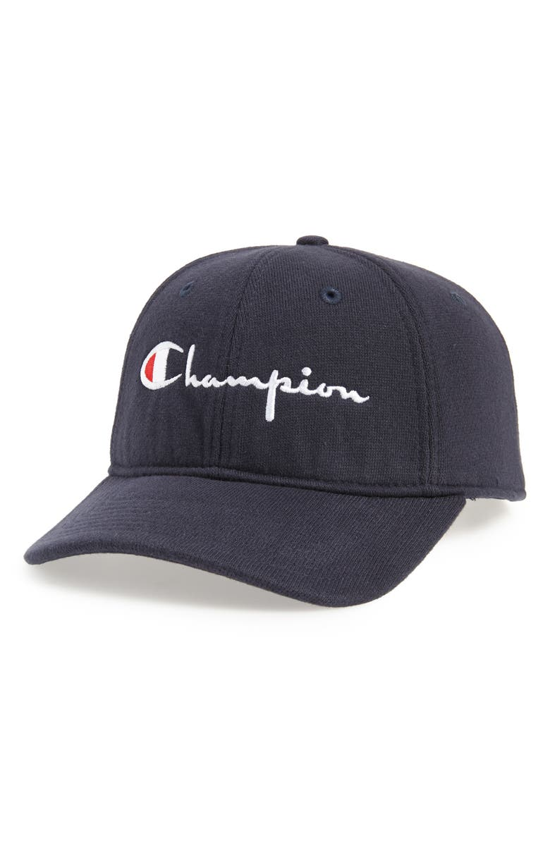 CHAMPION Reverse Weave<sup>®</sup> Dad Baseball Cap, Main, color, NAVY