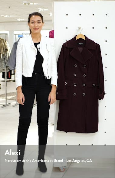 Wool Blend Military Coat, sales video thumbnail