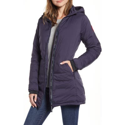 Canada Goose Camp Hooded Down Jacket, Blue