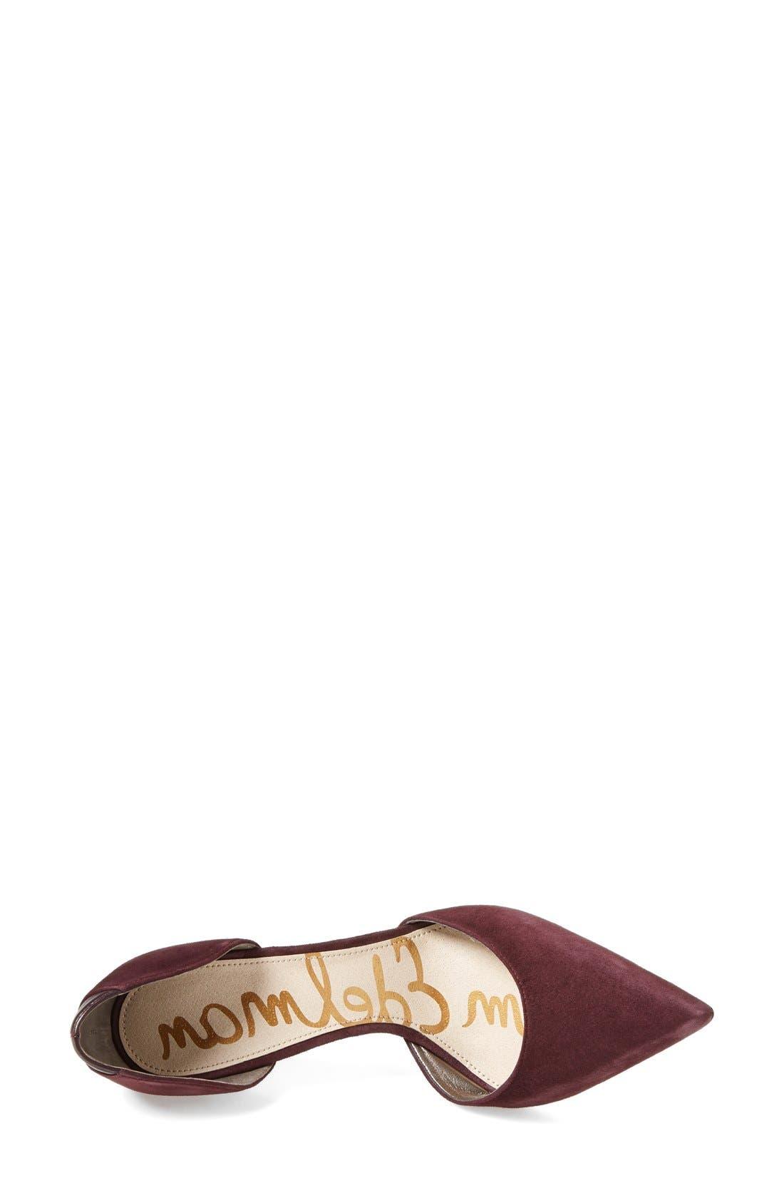 ,                             'Delilah' Calf Hair d'Orsay Pump,                             Alternate thumbnail 73, color,                             930