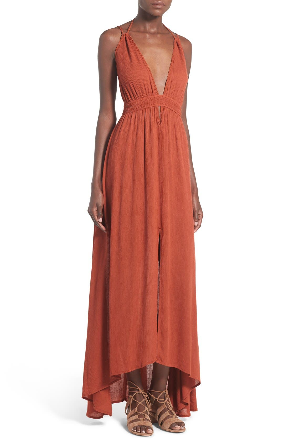,                             ASTR 'Belen' Maxi Dress,                             Main thumbnail 6, color,                             800
