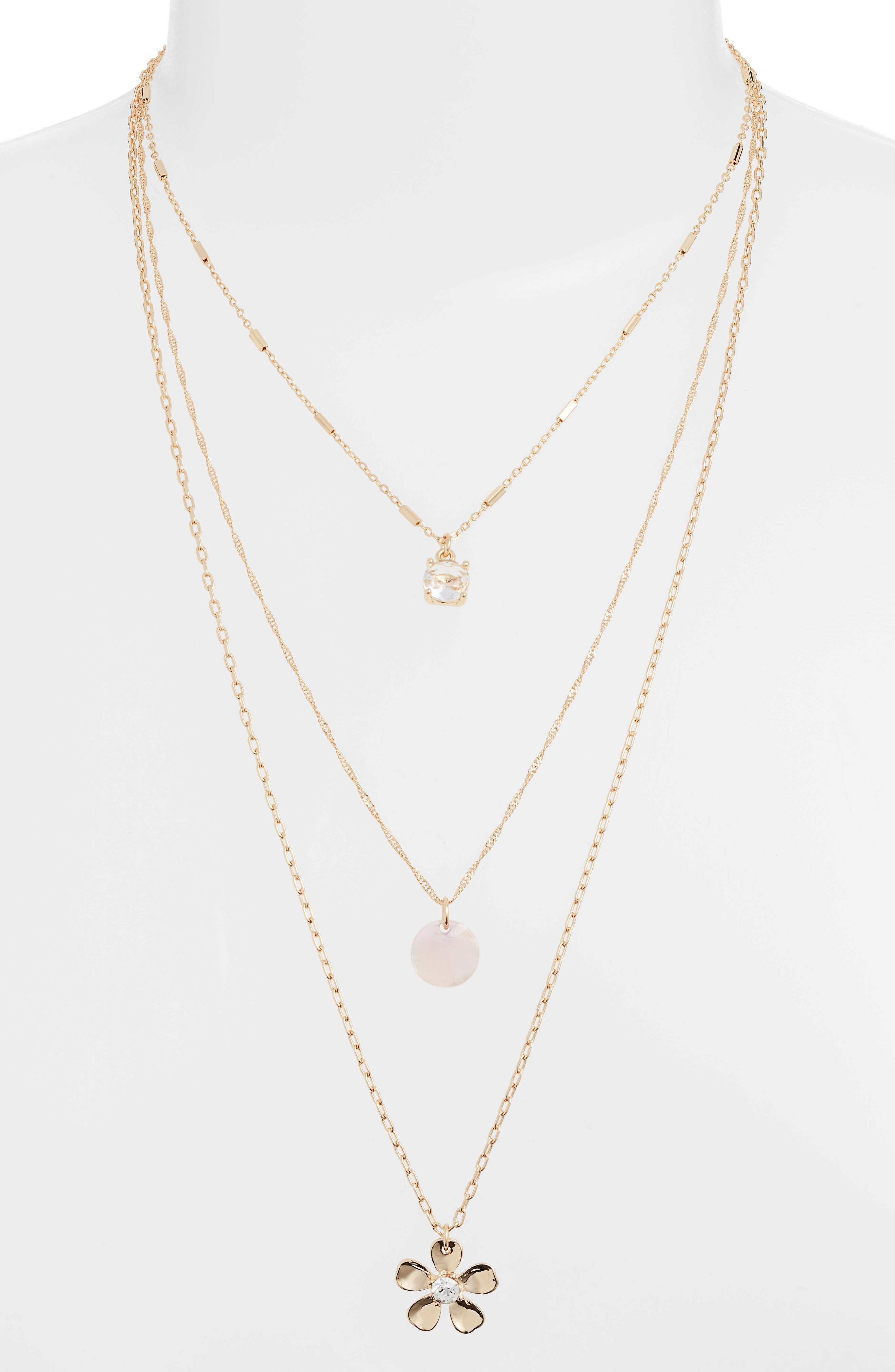 ,                             Layered Necklace,                             Alternate thumbnail 2, color,                             100